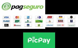 PagSeguro e PicPay
